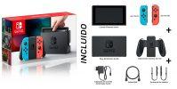 Todo lo que viene incluido en la caja de la Nintendo Switch