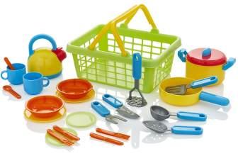 Utensilios de cocina para niños