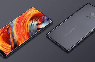 Xiaomi Mi Mix 2S edición limitada de cerámica en color negro